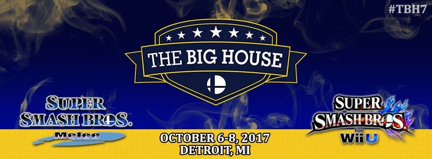 The Big House 7 - Melee Singles @ Cobo Center | 10-6-17