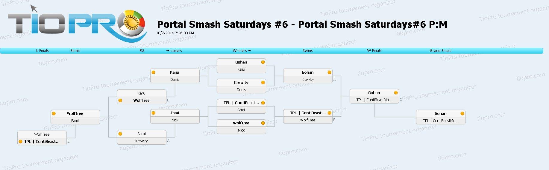 Portal Smash Saturdays#6 P:M