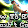 VIDEO - How To Ryu- Smash 4 - Informative And Combo Guide / Tips / First Look