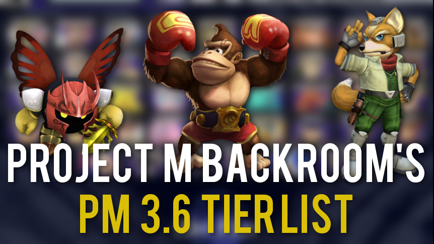 The Project M Backroom Releases New PM 3 6 Tier List | Smashboards
